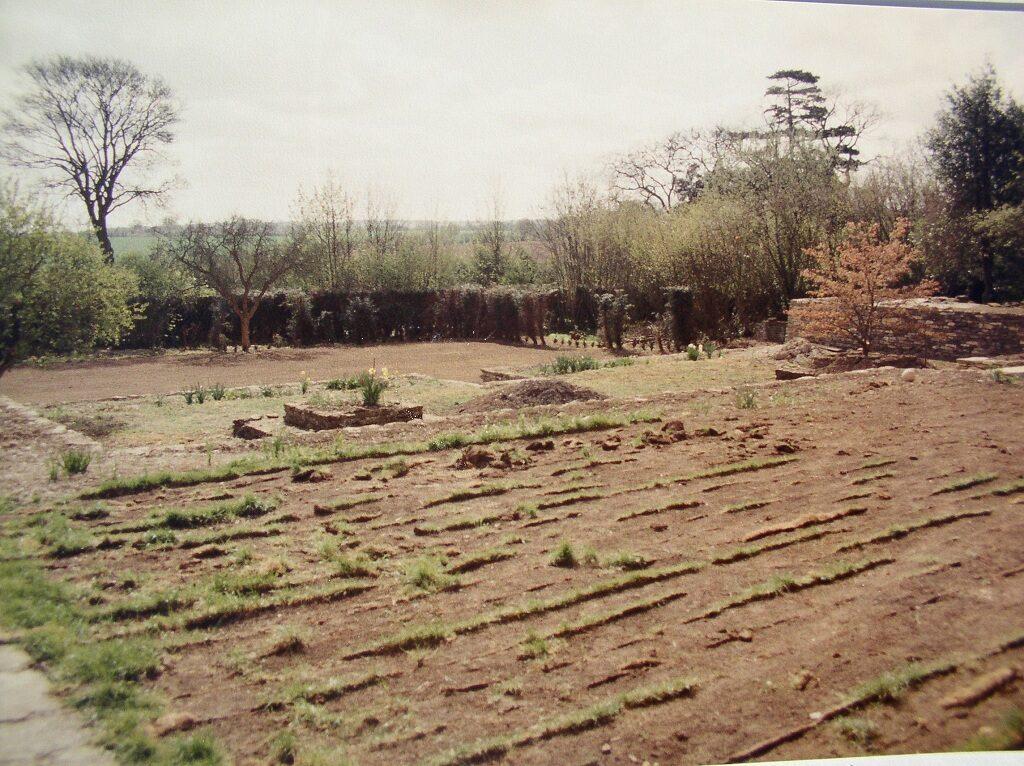 Overlooking the Rose Garden 1984